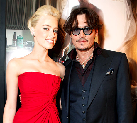 "Johnny Depp, Amber Heard Are ""100 Percent Dating"""