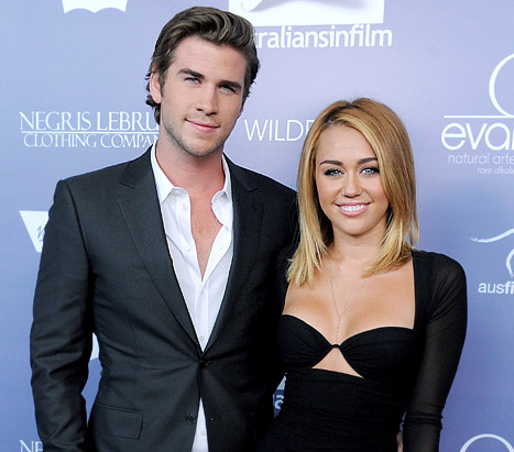 Oops! Liam Hemsworth Says He and Miley Cyrus Are &quot;Married&quot;