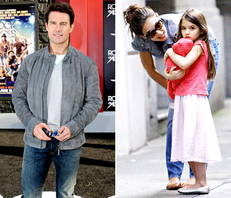 "Katie Holmes, Tom Cruise Fought ""Viciously"" Over Scientology Parenting"