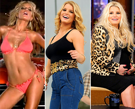 Jessica Simpson Turns 32: How Her Body Has Changed