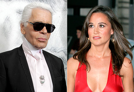 Karl Lagerfeld Slams Pippa Middleton: I Don&#39;t Like Her Face