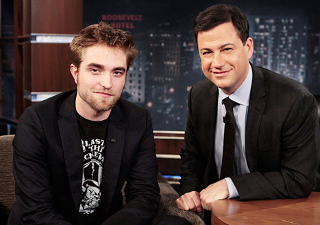 Robert Pattinson Jokes to Jimmy Kimmel: I'm Homeless!