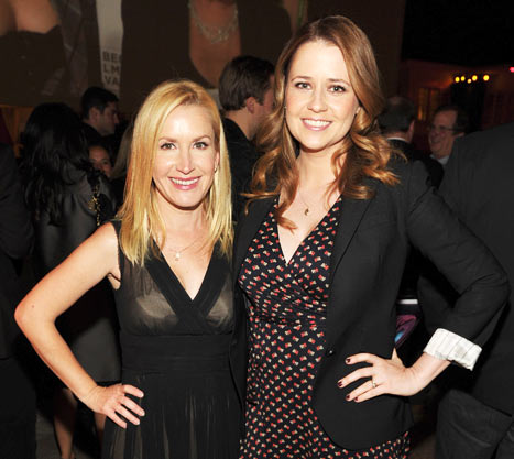 "Jenna Fischer, Angela Kinsey Are ""Very Emotional"" Over The Office Ending"
