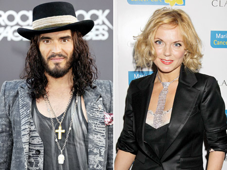 Russell Brand Dating Spice Girls' Geri Halliwell?