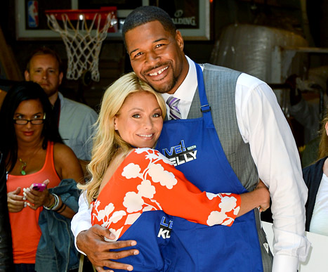 Michael Strahan Joins Kelly Ripa as Permanent LIVE! Cohost