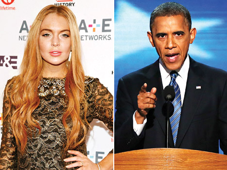 Lindsay Lohan to Barack Obama: I Still Need Tax Cuts!