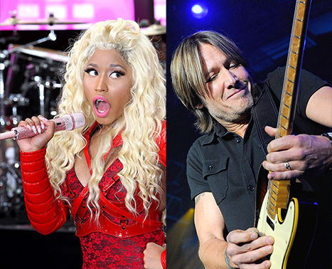 Confirmed! Nicki Minaj, Keith Urban Named New American Idol Judges