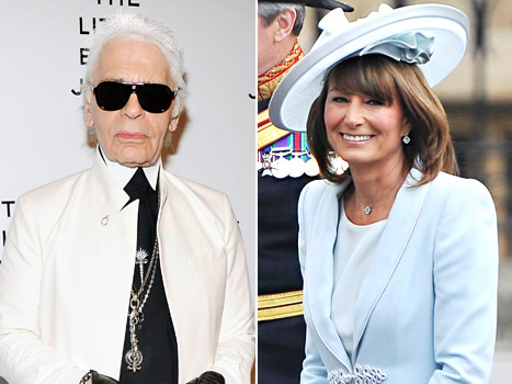 Karl Lagerfeld: Carole Middleton Is &quot;Sexier Than Her Daughters&quot; Kate and Pippa