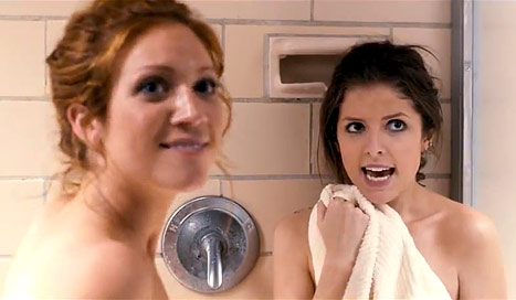 Anna Kendrick: Filming Shower Scene With Brittany Snow in Pitch Perfect Was &quot;the Best Day of My Life&quot;