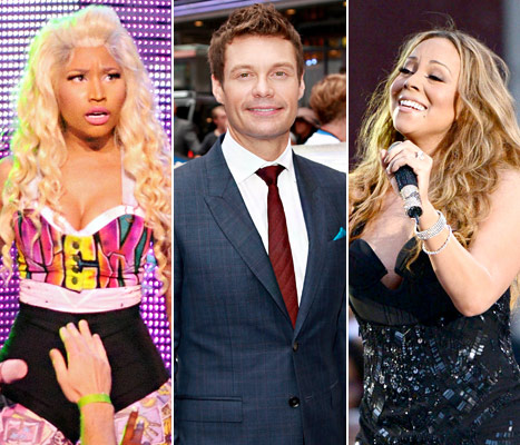 Ryan Seacrest Explains &quot;Intense&quot; Nicki Minaj, Mariah Carey Fight