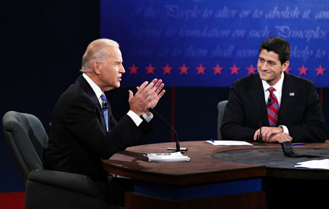Joe Biden and Paul Ryan's Vice Presidential Debate: Celebs Weigh In