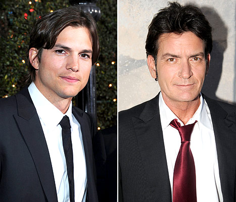 Ashton Kutcher Replaces Charlie Sheen as No. 1 on Forbes' List of Highest Paid TV Actors