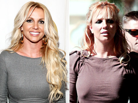 Britney Spears Gets Bangs!