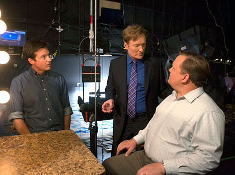Conan O&#39;Brien Tweets First Photo from Arrested Development Set