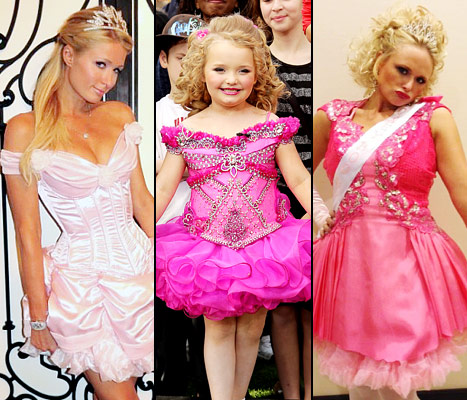 Paris Hilton, Honey Boo Boo and Miranda Lambert
