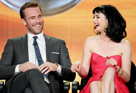 Krysten Ritter: James Van Der Beek Gave Me Wolf Urine to Ward Off Coyotes