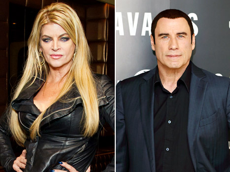 "Kirstie Alley: John Travolta Is ""Not Gay,"" Is ""Greatest Love of My Life"""