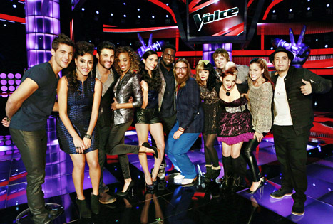 The Voice: Top 12 Performers Revealed!