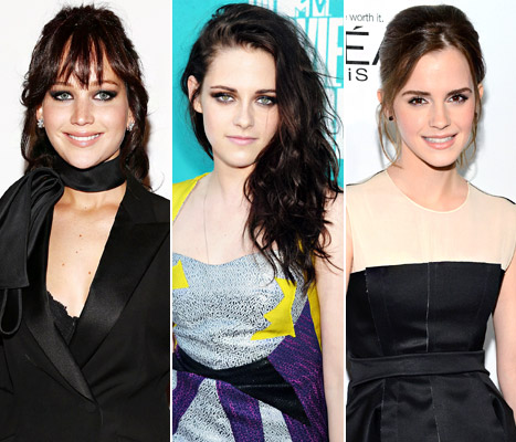 "Kristen Stewart, Jennifer Lawrence, Emma Watson Enjoy ""Awesome"" Girls' Night Out"