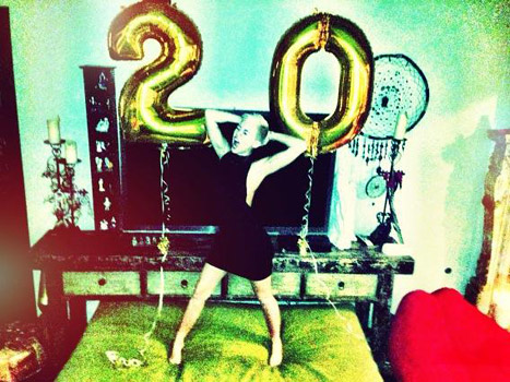 PICTURE: Miley Cyrus -- How I Celebrated My 20th Birthday