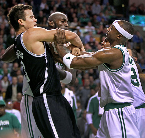 Kris Humphries Kicked Out of Basketball Game After Brawl