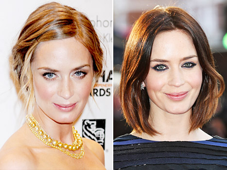 Emily Blunt on November 27, 2012 and April 10, 2012