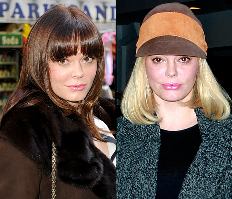 PICTURE: Rose McGowan Goes Blonde!