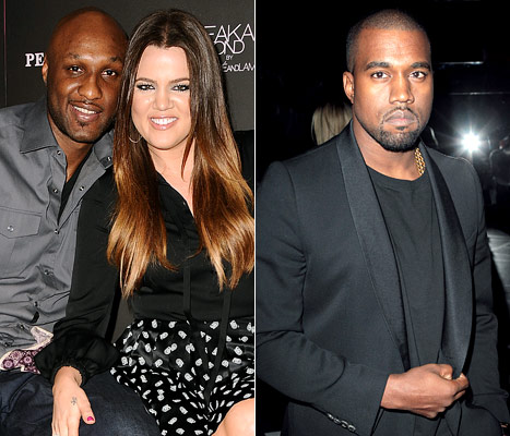Khloe Kardashian: Lamar Odom Writes Lyrics for Kanye West