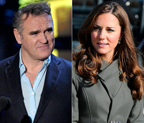 Morrissey, British Singer, Blames Pregnant Kate Middleton for Nurse&#39;s Suicide