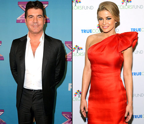 Simon Cowell Confirms He&#39;s Dating Carmen Electra