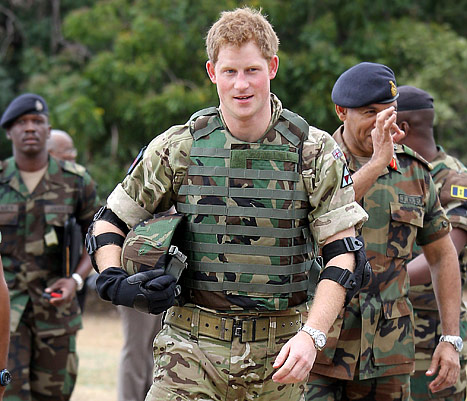 How Prince Harry Celebrated Christmas in Afghanistan