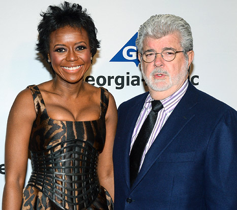 George Lucas Engaged to Mellody Hobson: How They Fell in Love