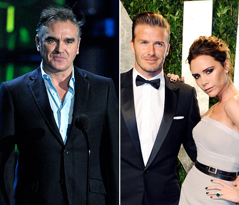 Morrissey Slams Victoria and David Beckham: &quot;They Are Insufferable to Anyone of Intelligence&quot;