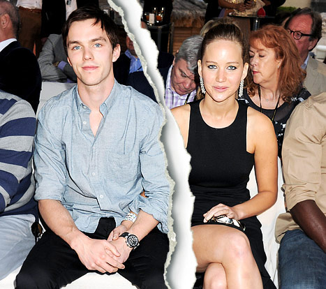Jennifer Lawrence and Nicholas Hoult Split!