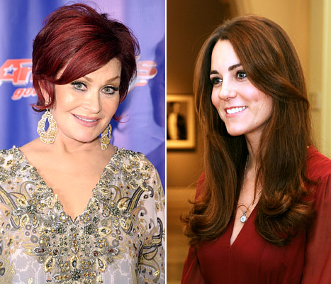 Sharon Osbourne Calls Lady Gaga a &quot;Bully&quot; and a &quot;Hypocrite,&quot; Kate Middleton Reveals First Official Portrait: Today&#39;s Top Stories