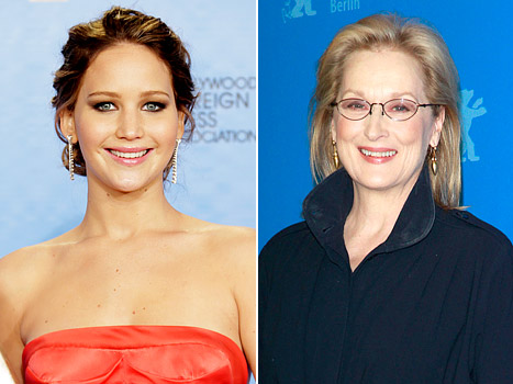 Jennifer Lawrence; Meryl Streep