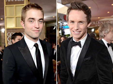 Robert Pattinson; Eddie Redmayne