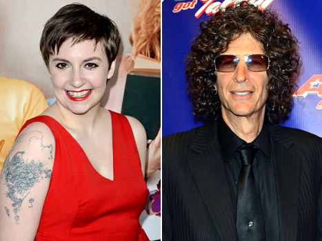 Lena Dunham Calls Into Howard Stern&#39;s Radio Show: &quot;I&#39;m Not That Fat, Howard&quot;