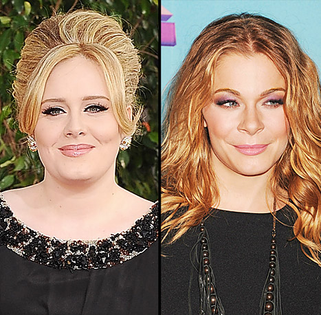 Adele Steps Out With Newborn Son, LeAnn Rimes Slams Brandi Glanville for &quot;Ridiculous&quot; Feud: Today&#39;s Top Stories