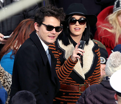 Katy Perry, John Mayer Attend President Barack Obama&#39;s Inauguration Together