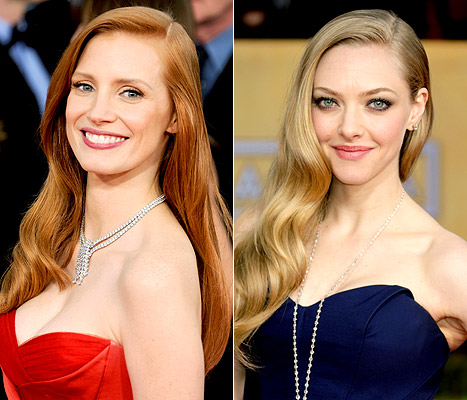 SAG Awards 2013&#39;s Biggest Hair Trend: The Deep Side Part