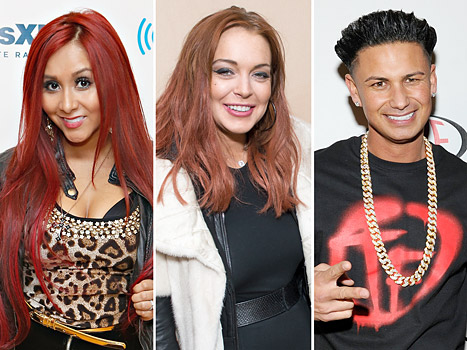 Snooki Thinks Lindsay Lohan and Pauly D &quot;Made Out&quot;