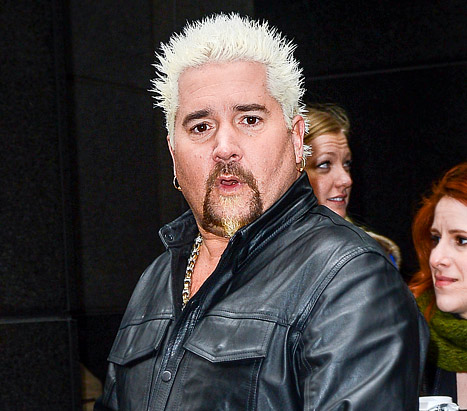 "Guy Fieri ""Threw a Fit"" After Being Rejected From VIP Super Bowl Party"