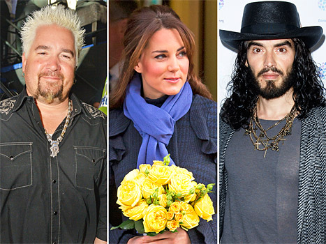 "Kate Middleton and Prince William Go on a Babymoon, Guy Fieri ""Threw a Fit"" After Being Rejected From VIP: Top 5 Stories of Today"