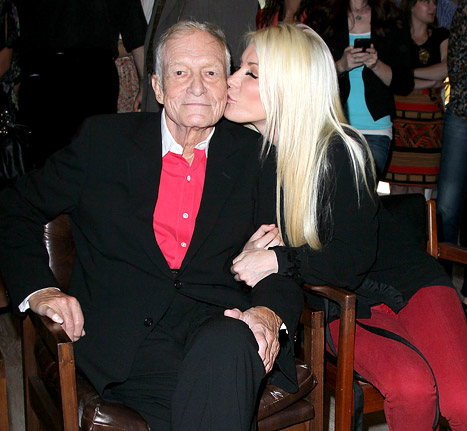 "Crystal Harris on Sex Life With New Husband Hugh Hefner: ""No Comment!"""