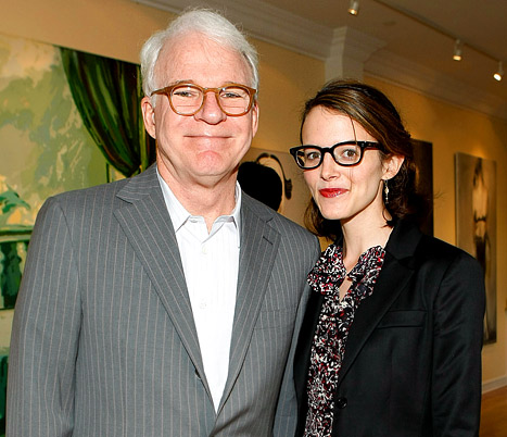 Steve Martin, 67, Becomes First-Time Dad, Wife Anne Stringfield Has Baby