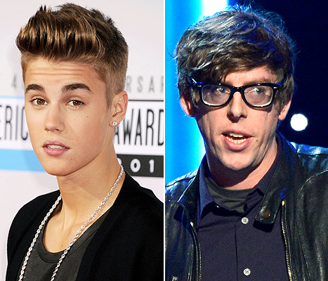 "Justin Bieber Says Black Keys Drummer Should be ""Slapped"""