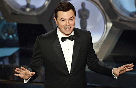 Seth MacFarlane's Most Offensive Oscar Jokes, Kim Kardashian Straddles Kanye West in New Magazine Cover: Top 5 Stories of Today