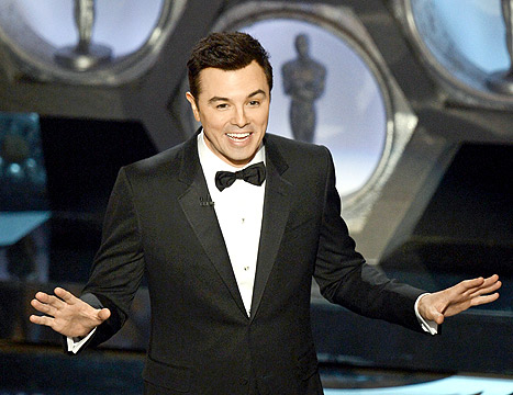 Seth MacFarlane Says There&#39;s &quot;No Way&quot; He&#39;ll Host the Oscars Again