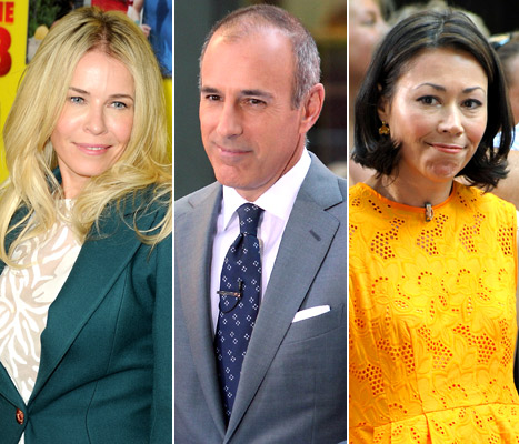 "Chelsea Handler Ends ""Simmering Feud"" With Matt Lauer After Ann Curry Joke"